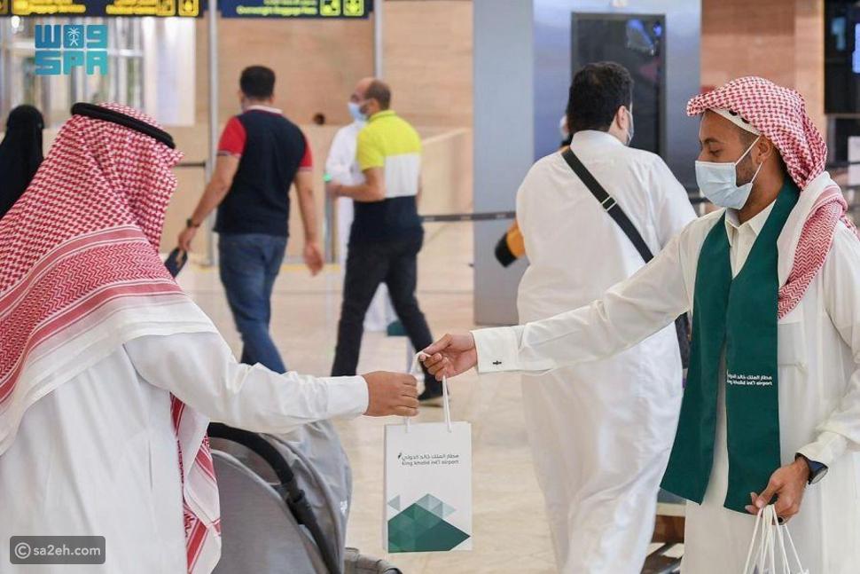 بعد عودة السفر: انطلاق أولى الرحلات الدولية من مطار الملك خالد في العاصمة السعودية