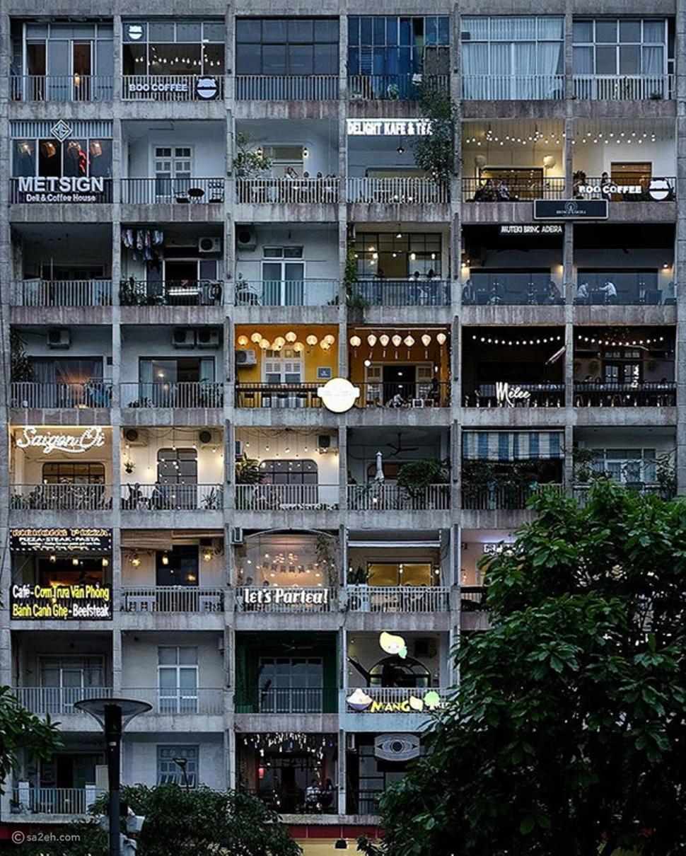 شقة CAFÉ ، مبنى سوبر هيب في مدينة هو تشي مينه فيتنام