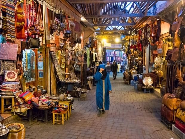أحد الأسواق بالمغرب