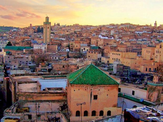 مباني من الحضارة القديمة بالمغرب