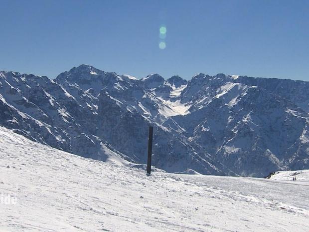 متعة التزلج في جبال المغرب