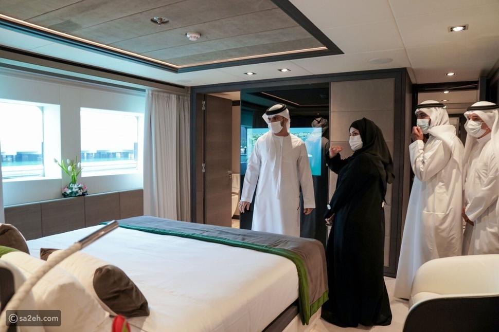 الإمارات تبني أكبر يخت في العالم مصنوع من الألياف الزجاجية