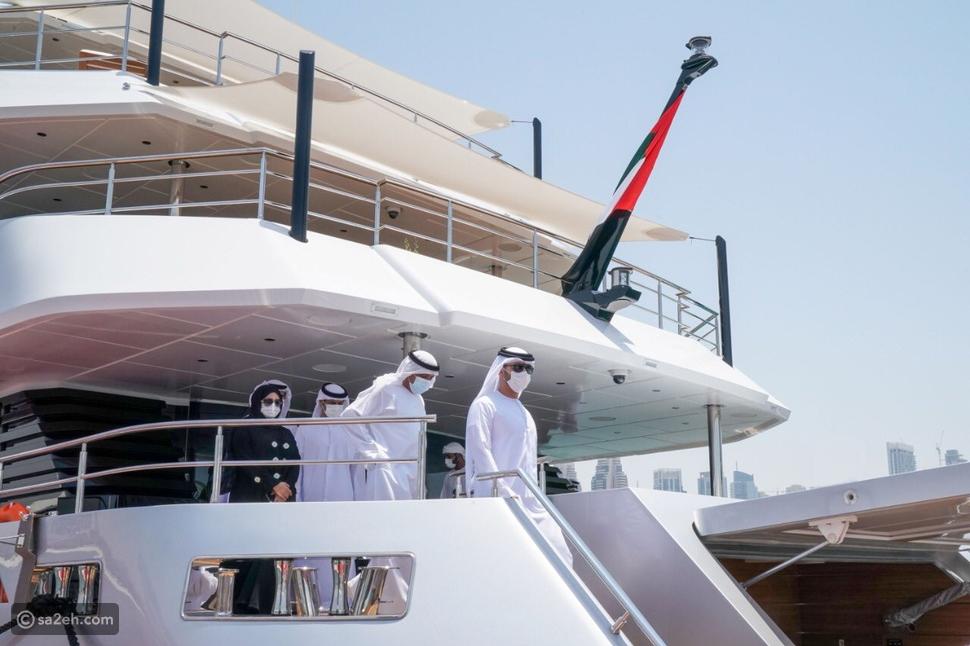 ماجستي 175: أكبر يخت في العالم مصنوع من الألياف الزجاجية في الإمارات