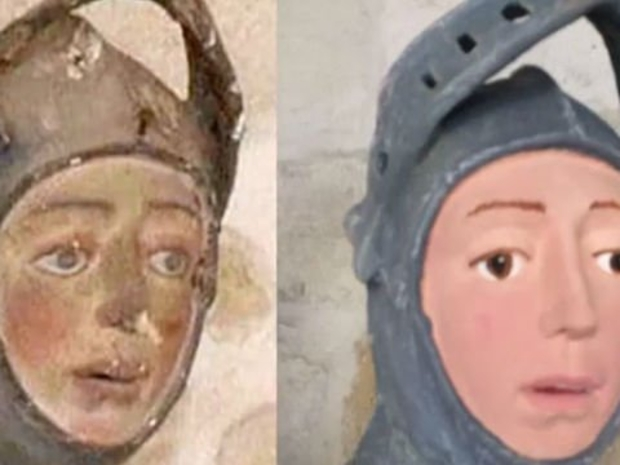 أسوأ أعمال الترميم الأثري تابع المقال وشاهد العجب