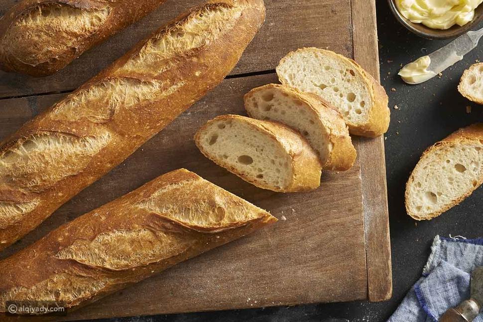 خبز الباغيت من فرنسا