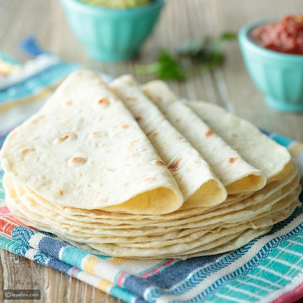 خبز التورتيا من المكسيك