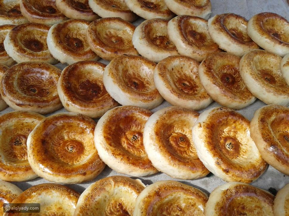 خبز نون من اوزباكستان