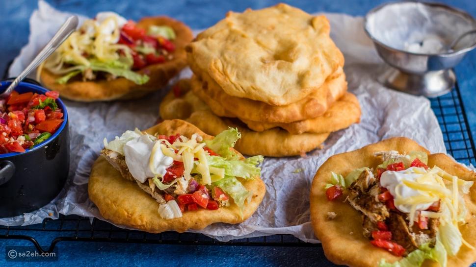 الخبز المقلي لشعب نافاجو سكان أمريكا الأصليين