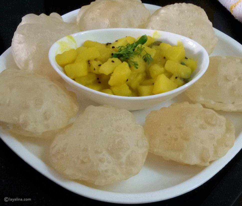 خبز لوشي من بنغلادش