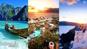 أفضل الجزر السياحية في العالم