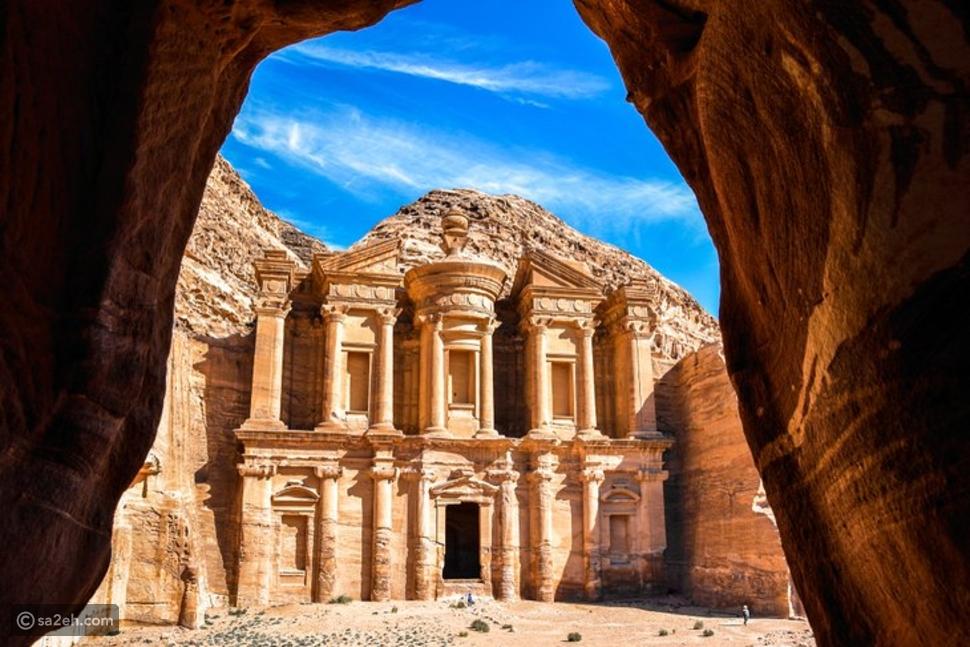 البتراء في الأردن: