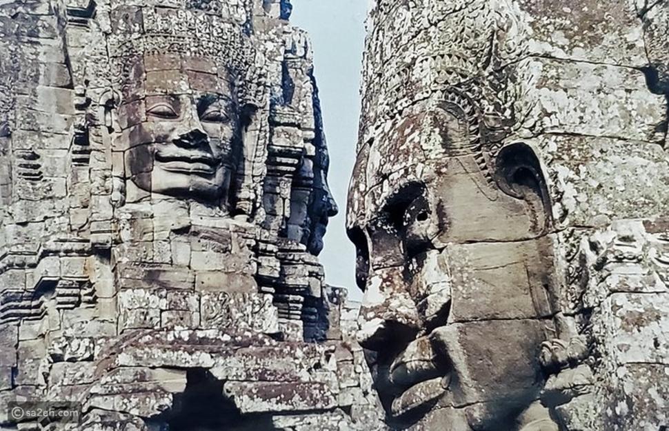 أنغكور وات في كمبوديا: