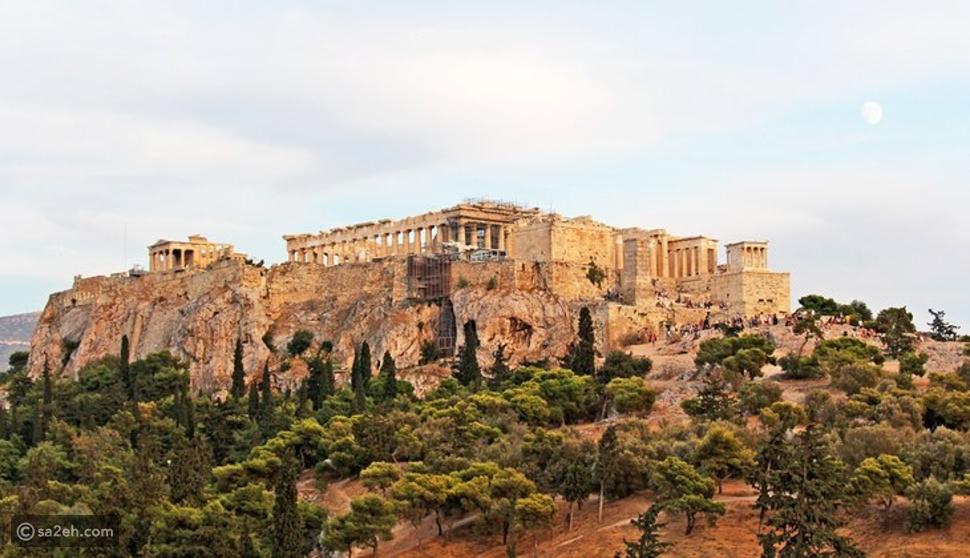 الأكروبوليس في أثينا: