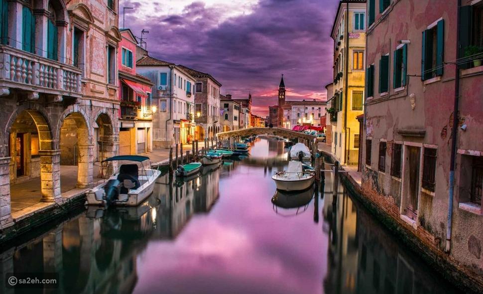 السياحة في الخريف، فينيسيا-إيطاليا