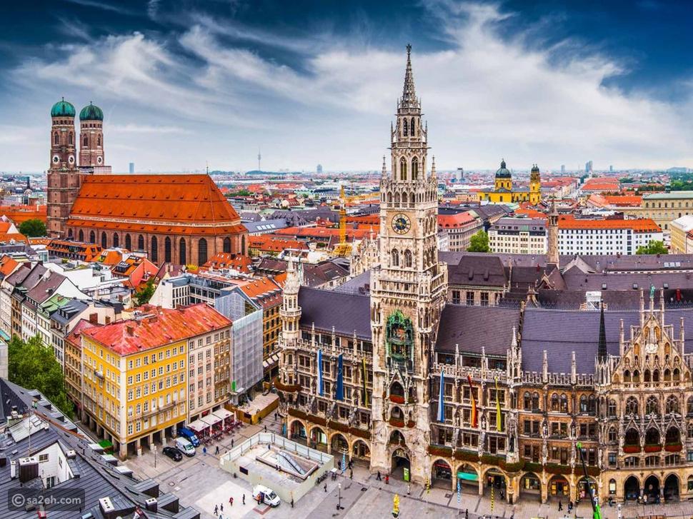 السياحة في الخريف، ميونخ-ألمانيا