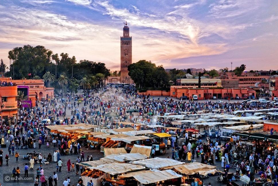مراكش أجمل مدينة في المغرب