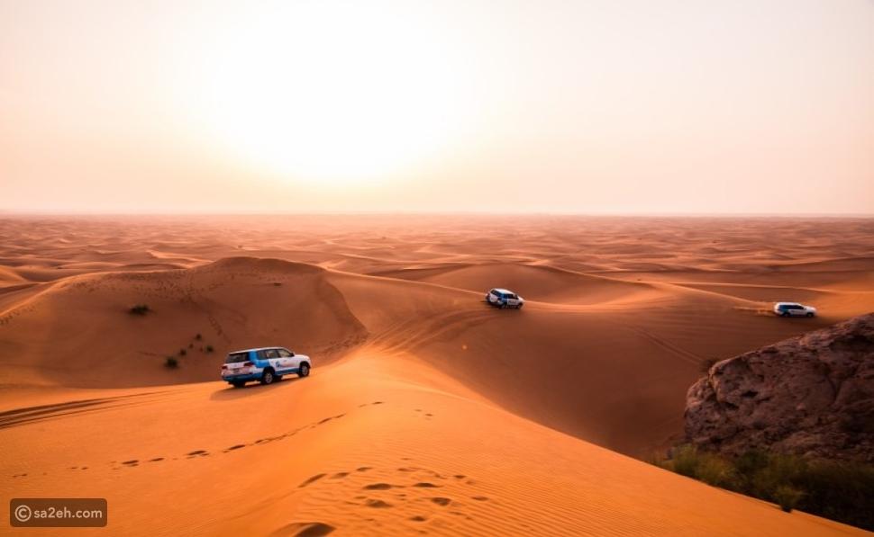أفضل رحلة سفاري على الكثبان الرملية الحمراء في دبي