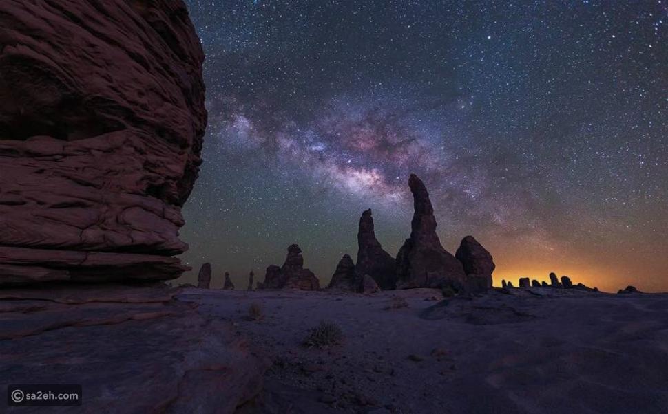 الغراميل: المكان الأمثل لمشاهدة النجوم في محافظة العلا