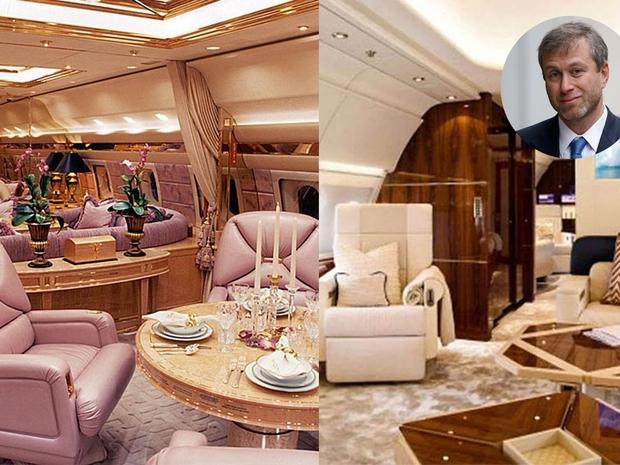 Roman Abramovich jet featured