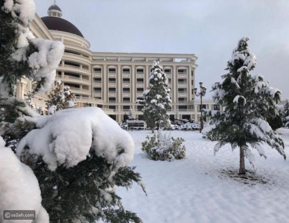 عش الهدوء والرفاهية في هذا الفندق المنعزل وسط طبيعة القوقاز الساحرة