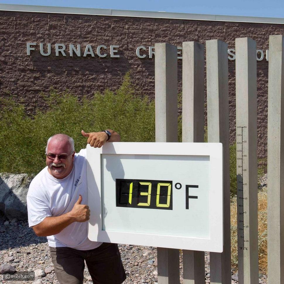 وادي الموت أحد أكثر الأماكن حرارة على وجه الأرض