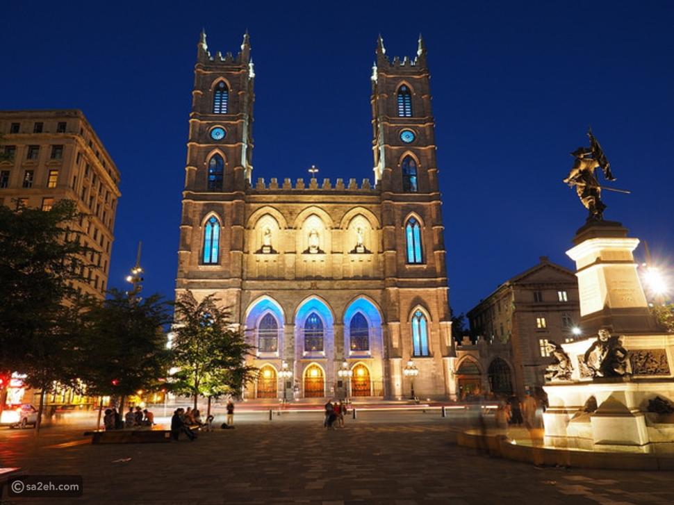 كنيسة نوتردام مونتريال