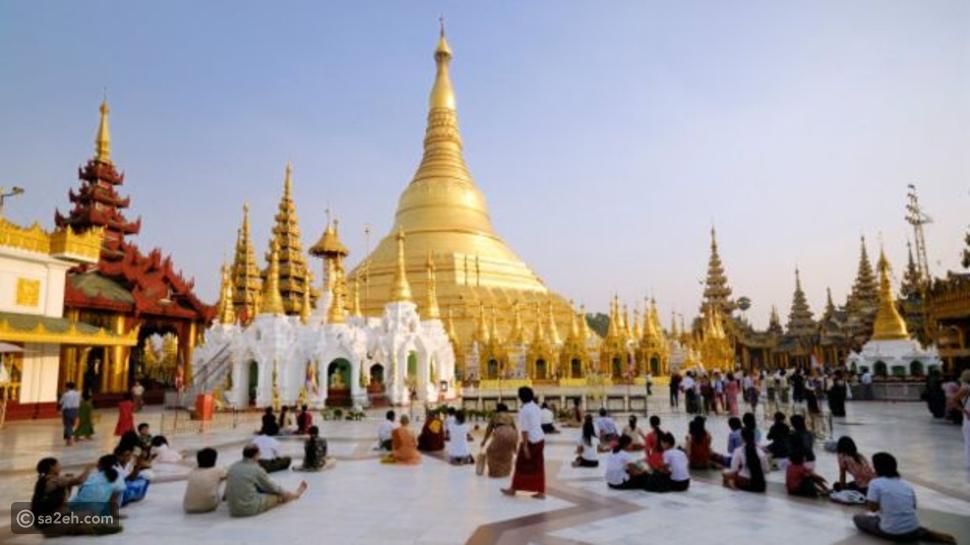 معبد شويداغون في بورما