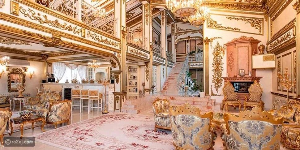 قصر مطلي بالذهب على بحرية بايكال الروسية،
