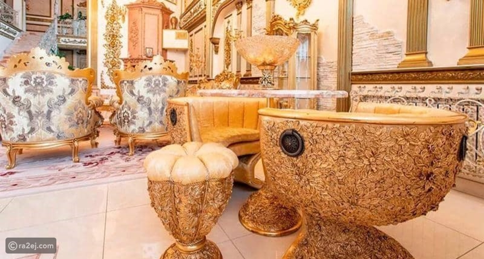 قصر مطلي بالذهب معروض للبيع مقابل 2.88 مليون دولار فقط