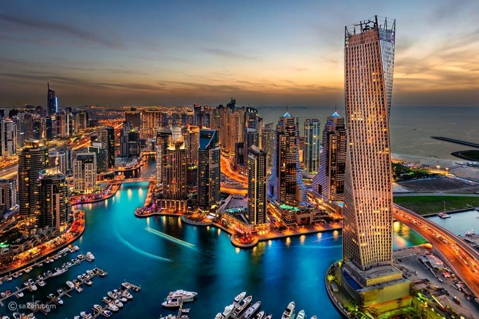 دبي - أفضل الأماكن لقضاء شهر العسل في الشتاء