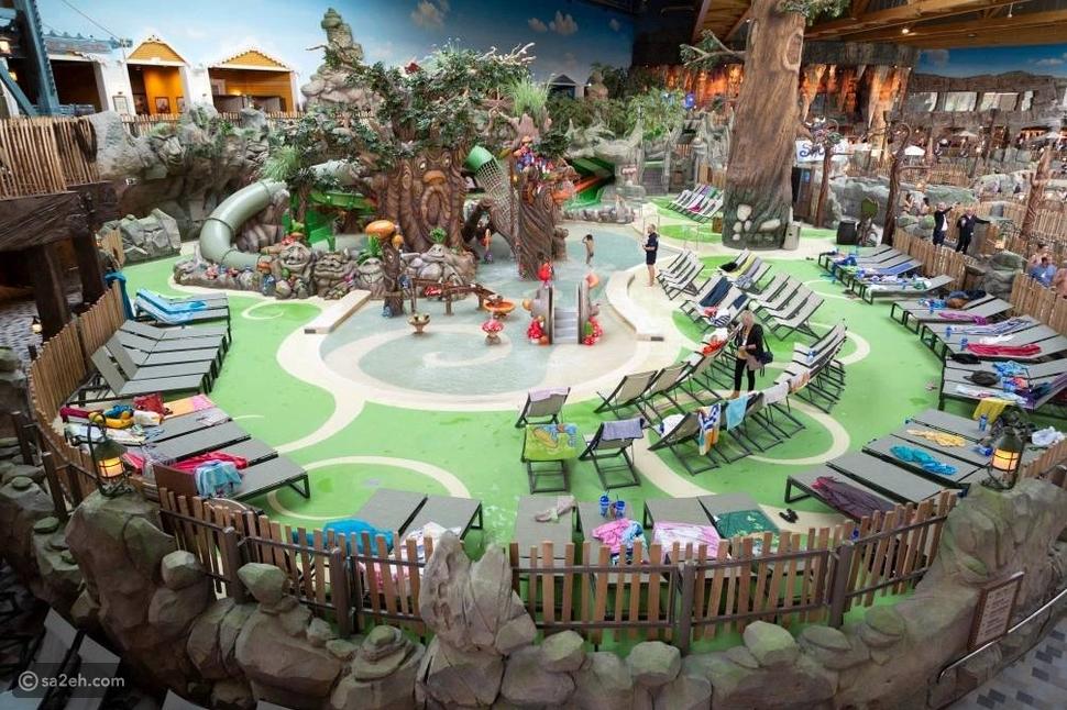 صور: أضخم حديقة للألعاب المائية في ألمانيا تفتح أبوابها للزائرين