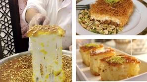 حكاية الكنافة الشامية على مائدة السحور وبعد الفطور في رمضان