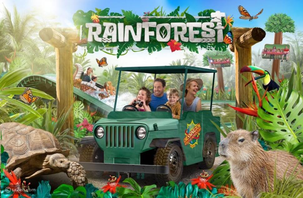 الغابات المطيرة: مفاجأة ملاهي Chessington الإنجليزية لزوارها في 2020
