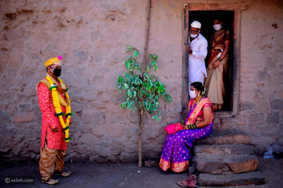 كيف تغيرت حفلات الزفاف الهندية في زمن الكورونا؟