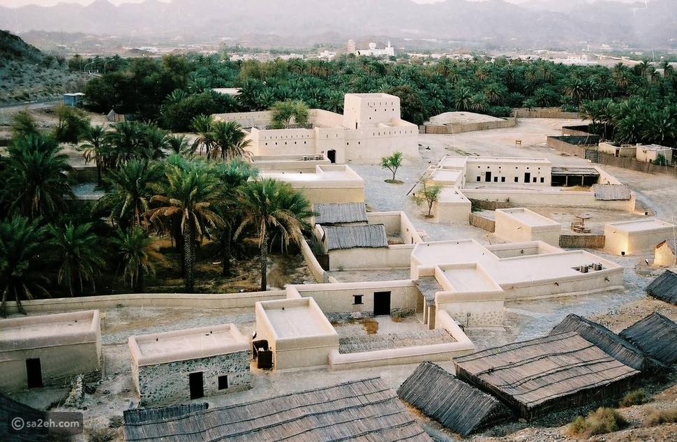 قرية حتا التراثية دبي
