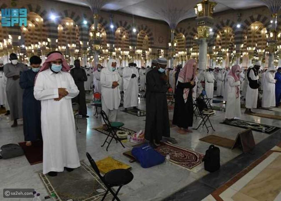 صور لأول صلاة تراويح في المسجدين الحرام والنبوي: أهلاً رمضان