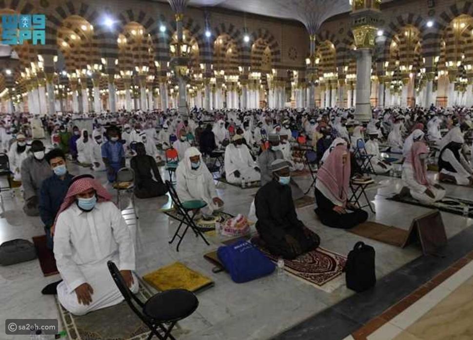 أول صلاة تراويح في المسجد النبوي