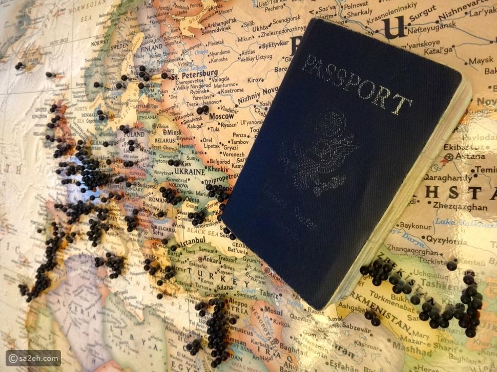 زيارة كل دولة حول العالم بدون طيران