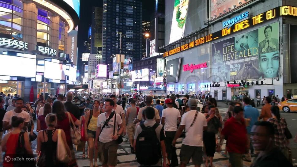 السير في شوارع نيويورك بلا هدف