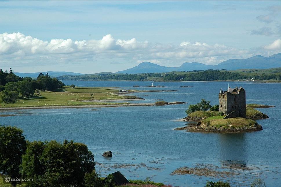 زر كل جزيرة في اسكتلندا