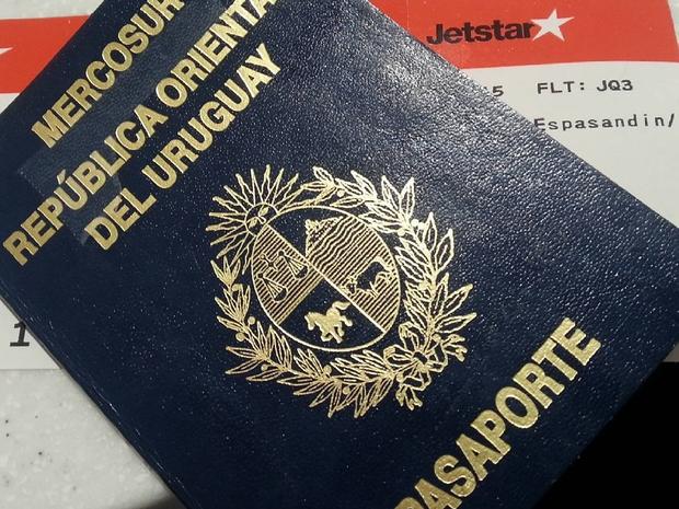 جواز السفر الأوروغوياني