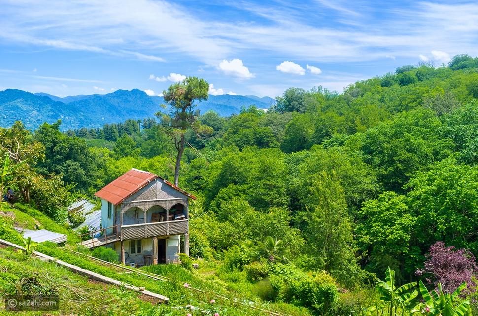 جورجيا تتمتع بطبيعة خضراء تريح النظر وتُسعد الروح