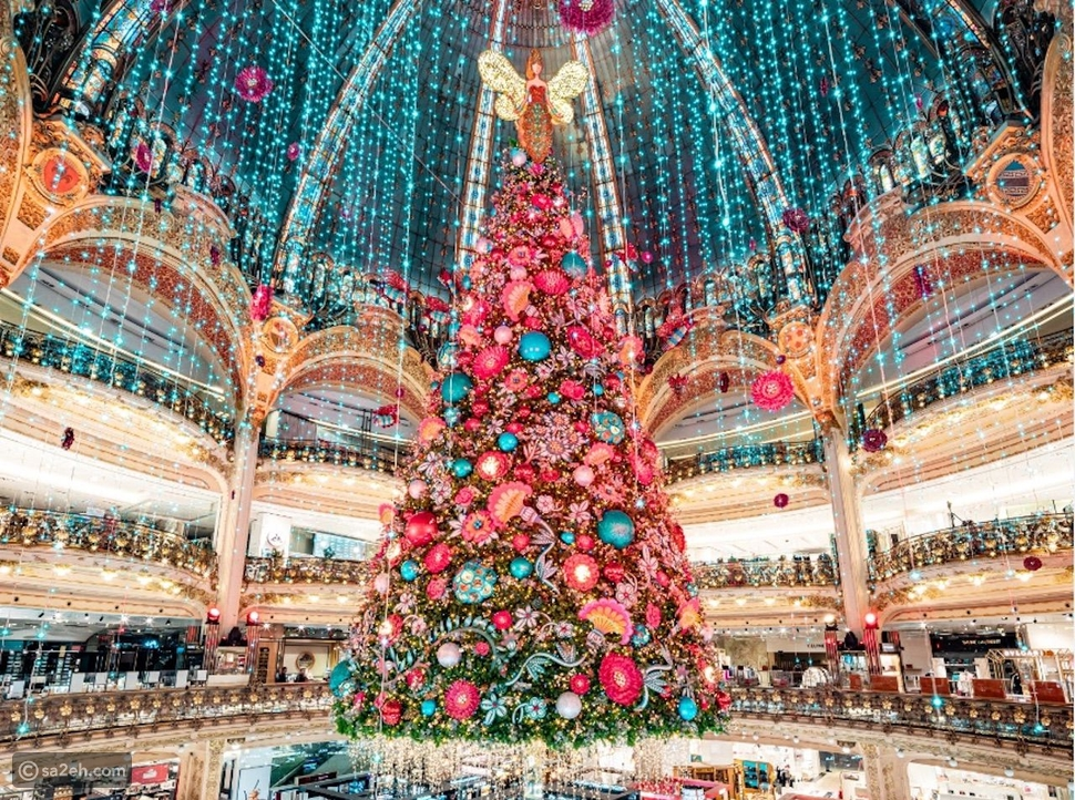 صور: أجمل أشجار الكريسماس حول العالم