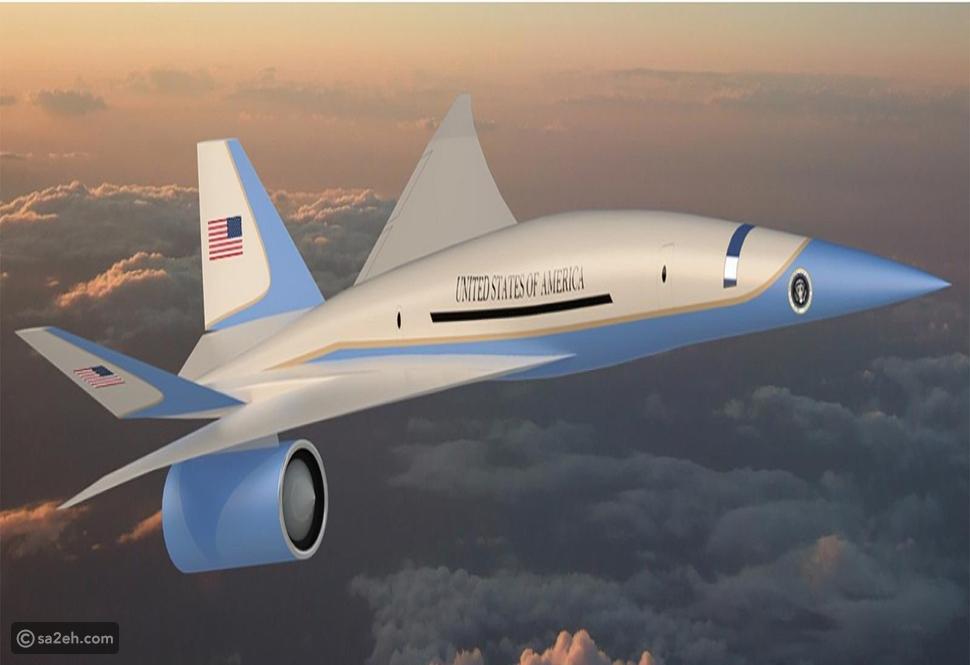 نموذج لطائرة Exosonic