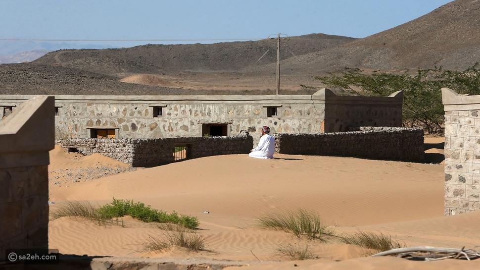 وادي المر: قرية تدفنها رمال الصحراء وتعود من جديد