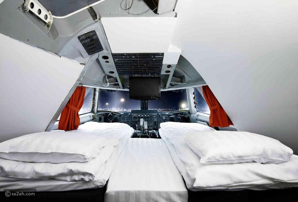 فنادق 5 نجوم وتجربة فريدة فهذه الفنادق هي بالأصل كابينة طائرة