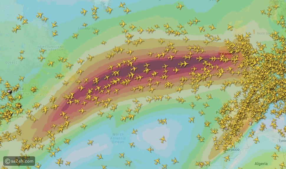 طائرة بريطانية تحطم الرقم القياسي لأسرع رحلة جوية  بفضل العاصفة كيارا