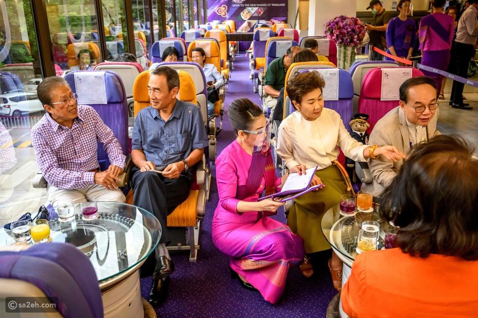 الطائرات المتقاعدة في تايلاند تتحول إلى مقاهي