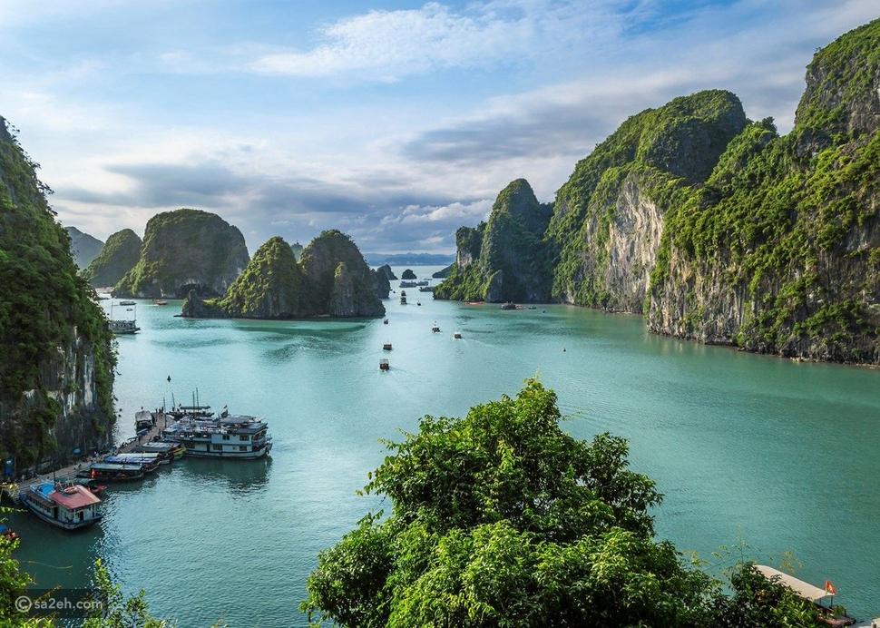 خليج ها لونج فيتنام