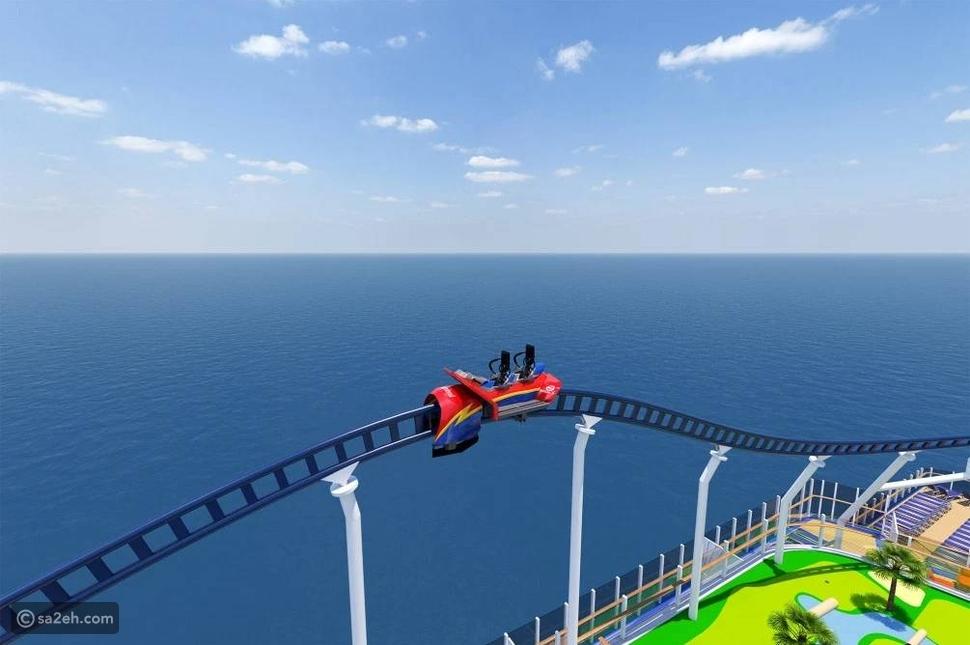 تضم أفعوانية وملاهي: هل تنطلق في مغامرة بحرية على متن هذه السفينة؟